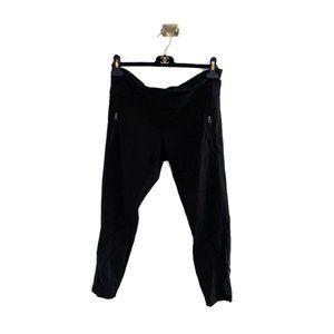 Lululemon Crop Pants with Mesh Design